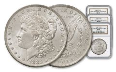 1883-1885-O Morgan Silver Dollar NGC MS63 - Great Montana Collection 3pc Set