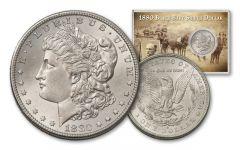 1880-S 1 Dollar Black Bart Silver Dollar BU