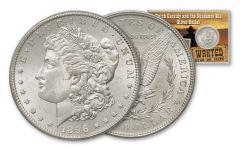 1896-P Morgan Silver Dollar Butch and Sundance BU