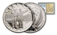 2004 1 Dollar Lewis and Clark Bicentennial PF69