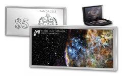 2015 5 Dollar 1-oz Silver Hubble Space Telescope Proof-Like