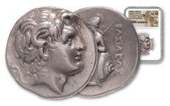 Alexander III Tetradrachm King Lysimachus NGC CH VF