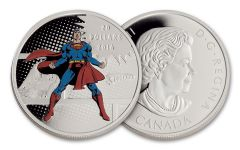 2016 Canada 20 Dollar 1-oz Silver DC Comics Original: The Man of Steel Proof