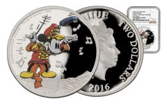 2016 Niue 1-oz Silver Mickey Band Concert NGC PF70UCAM