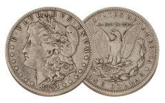 1891-O Morgan Silver Dollar VF