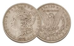 1879-P Morgan Silver Dollar XF