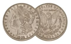 1902-O Morgan Silver Dollar XF