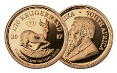 2017 South Africa 1/10-oz Gold Krugerrand Proof