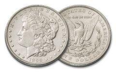 1899-O Morgan Silver Dollar AU