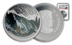 2016 Canada 20 Dollar 1-oz Silver Salmon NGC PF69UCAM Early Releases