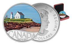 2017 Canada 10 Dollar Silver Panmure Island 150th Anniversary Proof