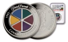 2017 Canada 1 Ounce $25 Silver Trivial Pursuit 35th Anniversary NGC PF70UC Early Releases
