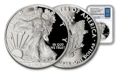 2017-W $1 Silver Eagle NGC PF70UC FDI Jeppson WDC
