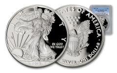 2017-W 1 Dollar 1-oz Silver Eagle Proof PCGS PR69DCAM