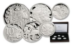 2017 Australia Silver Annual Proof Set