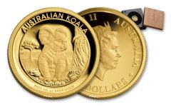 2017 Australia $25 1/4-oz Gold Koala Proof