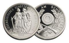 1990 Switzerland Shooting Festival Thaler – Winterthur Gem Proof