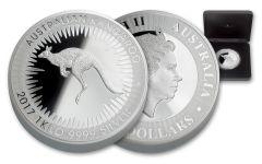 2017 Australia 30 Dollar Kilo Silver Kangaroo Proof