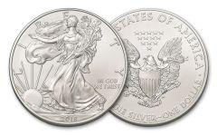 2018 $1 1-oz Silver American Eagle BU