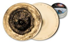 2017 Cook Islands 2 Dollar 1/2-oz Silver Chergach Meteorite Brilliant Uncirculated