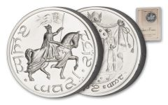 Lord Of The Rings 1-oz Silver Gondor Double Crown Medal