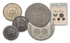 Lord Of The Rings Fantasy 5pc Coin Set #2
