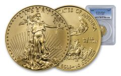 2018 10 Dollar 1/4-oz Gold Eagle PCGS MS69