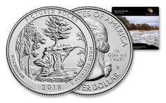 2018 America The Beautiful Apostle Islands National Lakeshore 3 Coin Set