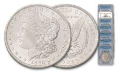 1883-1902-O Morgan Silver Dollar NGC/PCGS MS63 7pc Set