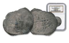 1556-1622 Nuestra Señora Del Rosario 8 Reales Silver NGC Shipwreck Effect