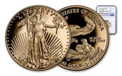 2018-W 10 Dollar 1/4-oz Gold Eagle NGC PF70UCAM First Releases