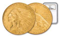 1913-P 2.50 Dollar Gold Indian NGC AU58 GSA
