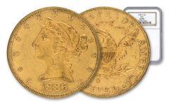 1886-S 5 Dollar Gold Liberty NGC AU50 GSA