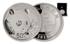 2018 China 150 Gram Silver Panda Proof