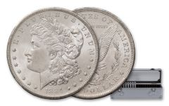 1878-1887 Morgan Silver Dollar 10 Piece Set NGC MS65 Pittman Act