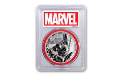 2018 Tuvalu $1 1 oz Silver Black Panther PCGS MS69 First Strike - Red Core