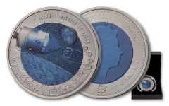 2018 Ghana 15-Gram Titanium Mission to the Moon Bu