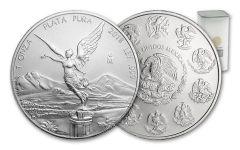 2018 Mexico 1-oz Silver Libertad BU Vault Reserve