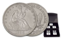 1854-1855-AW 1856-1860-O 50 Cent Seated Liberty Silver Half Dollar NGC Shipwreck SS Republic 7pc Set