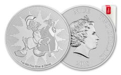 2018 Niue 2 Dollar 1-oz Silver Scrooge McDuck BU Roll of 25