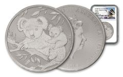 2018 Australia $2 2-oz Koala Piedfort NGC MS69