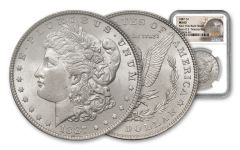 1887-P Morgan Silver Dollar New York Bank Hoard Treasury NGC MS63 20-Piece Roll
