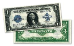 1923 $1 Silver Certificate Currency Note PMG/PCGS CU67