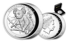 2018 Australia $8 5-oz Silver Koala High-Relief Proof