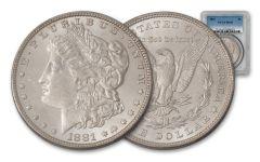 1881-P Morgan Silver Dollar PCGS/NGC MS63