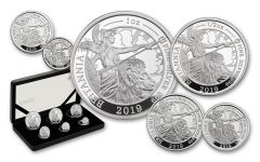 2019 Great Britain Silver Britannia 6-Piece Proof Set