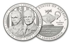2013-P $1 Silver Five-Star Generals Commemorative Proof