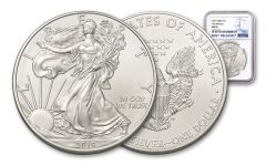 2019 $1 1-oz Silver American Eagle NGC MS70 First Releases