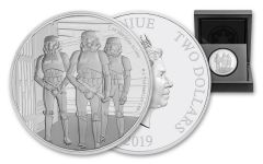 2019 Niue $2 1-oz Silver Star Wars Stormtroopers Proof