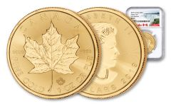 2019 Canada $50 1-oz Gold Maple Leaf NGC MS69 First Releases - Exclusive Canada Label